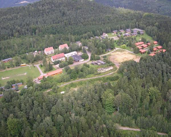Abireisen Jugenddorf ERNA: Luftaufnahme