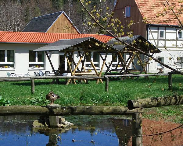 Jugendfahrt Spukschloss Bahratal- Teich