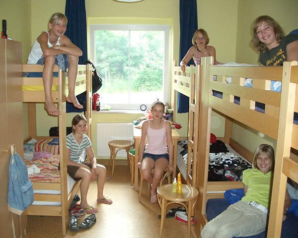 Schulreise Spukschloss Bahratal: Zimmerbeispiel