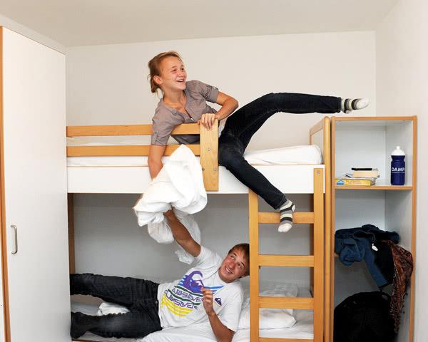 Schülerreisen Ferienpark Damp: Zimmerbeispiel