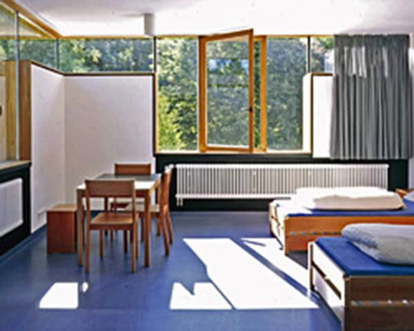 Kursfahrt Jugendherberge Possenhofen- Zimmerbeispiel Betreuer