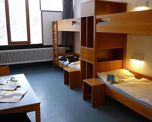 Abireise Jugendherberge Possenhofen: Zimmerbeispiel Mehrbettzimmer