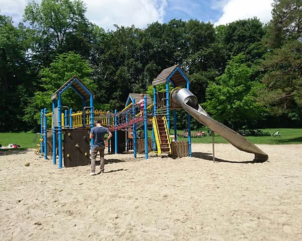 Abschlussfahrt Jugendherberge Possenhofen- Spielplatz