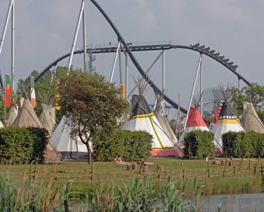 Kursfahrten Camp Resort Europapark Rust- Sonnenbad