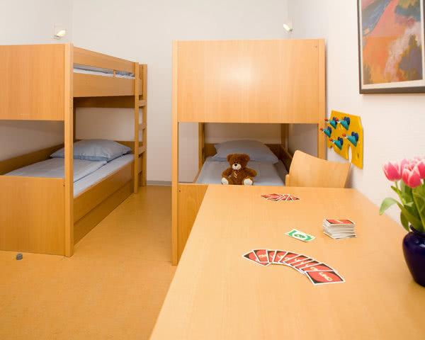 Klassenreise Selbstversorgerhaus Rantum: Zimmerbeispiel