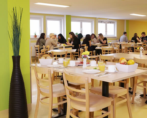 Jugendreise A&O Hostel Weimar: Speisesaal