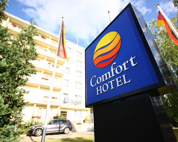 Studienfahrt Comfor-Hotel Weimar- Außenansicht