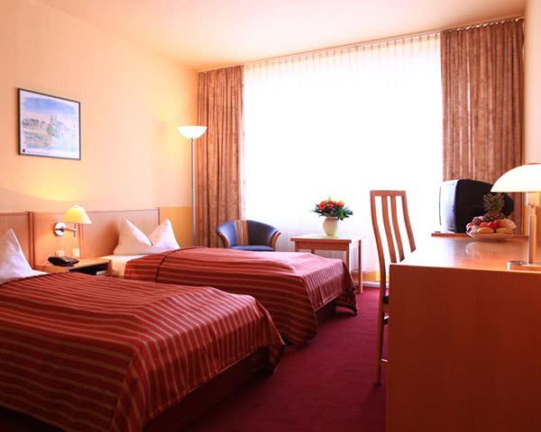 Schulfahrt Comfort-Hotel Weimar- Zimmerbeispiel