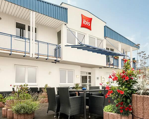Kursfahrt Ibis Hotel Erfurt Ost- Außenansicht
