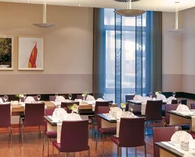 Studienreise InterCityHotel Ulm- Restaurant