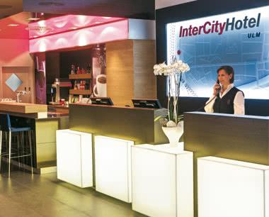 Schulfahrt InterCityHotel Ulm: Rezeption