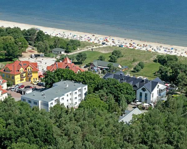 Kursreise Hotel Am Meer Karlshagen: Luftbild