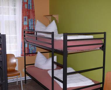 Schülerreise Jugendferienpark Ahlbeck: Zimmerbeispiel