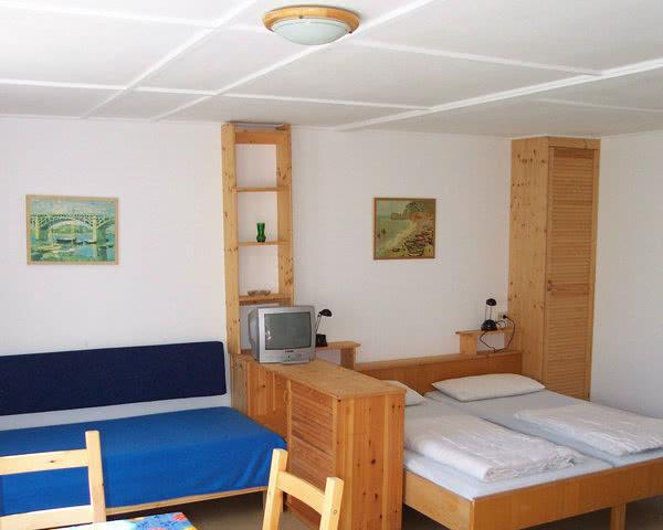 Schülerreise Ferienanlage Koserow: Zimmerbeispiel