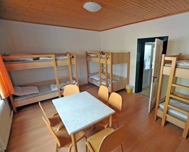 Schulreise Werbellinsee: Unterbringungsbeispiel