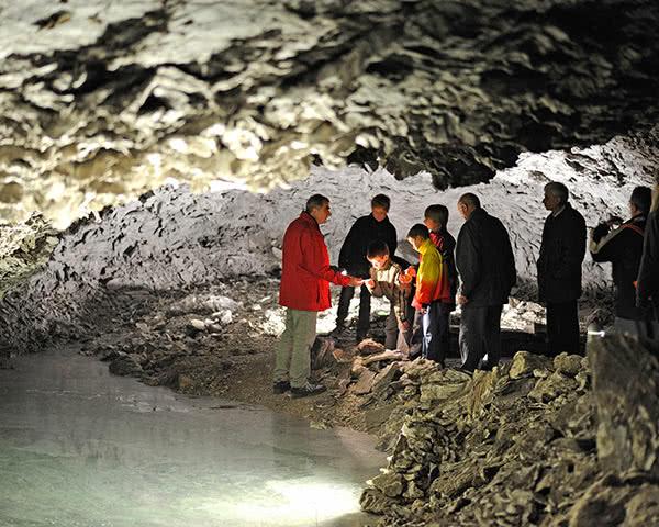 Klassenfahrt Sachsen-Anhalt: Die Barbarossahöhle im Harz