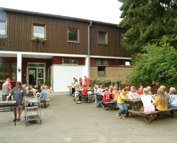 Kursfahrt Harz: Grillabend