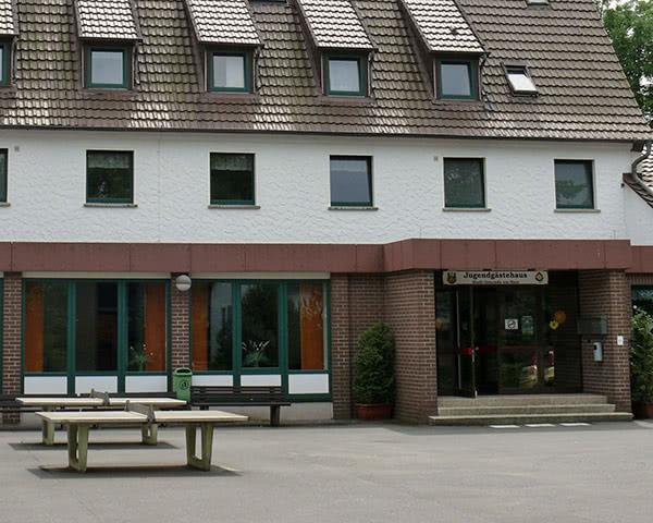 Schülerfahrt Unterkunft Osterode- Außenansicht