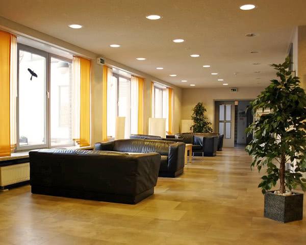 Abireise Unterkunft Osterode: Eingangsbereich