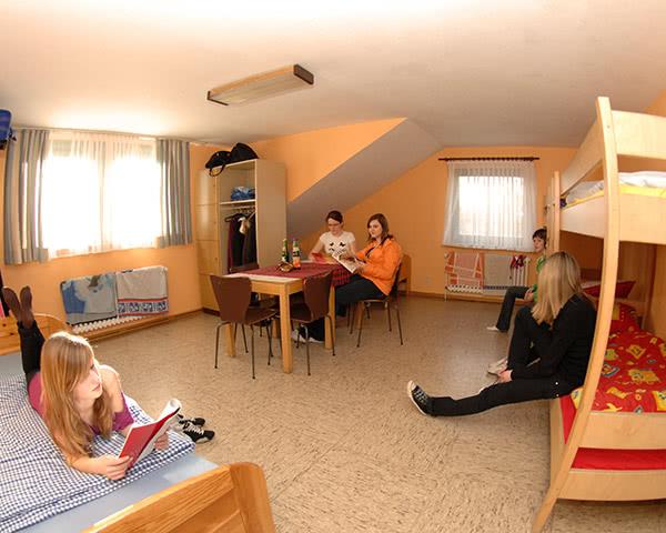 Klassenreise Unterkunft Osterode: Zimmerbeispiel