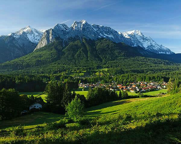 Studienreise Grainau: Panorama
