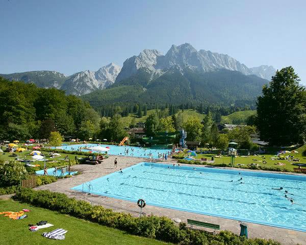 Kursfahrten Grainau- Zugspitzbad