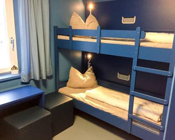 Schülerreisen Jugendherberge Oberammergau: Zimmerbeispiel Mehrbettzimmer