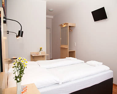 Abschlussreisen A&O Hostel Zuidoost: Doppelzimmer