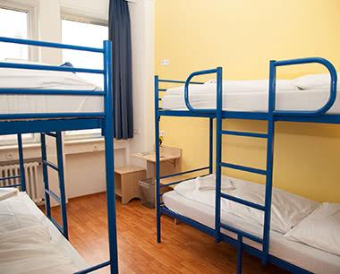 Schülerfahrten A&O Hostel Zuidoost- Zimmer