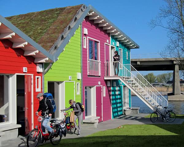 Jugendfahrten CampPark Amsterdam- Unterkunftsbeispiel
