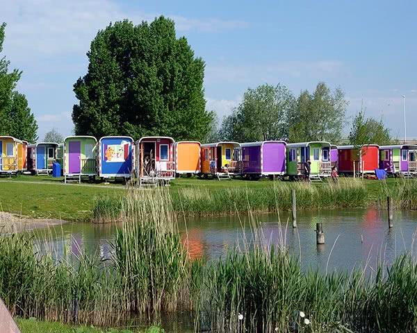 Gruppenreisen CampPark Amsterdam: Wagonettes