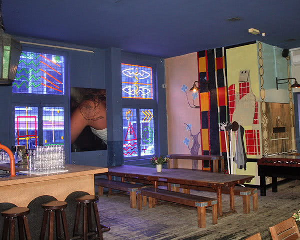 Kursreise Hostel Hans Brinker: Bar