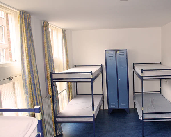 Studienfahrt Hostel Hans Brinker- Mehrbettzimmer
