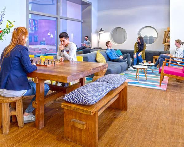 Abireise Stayokay Amsterdam Zeeburg: Lounge