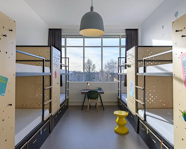 Klassenfahrt Stayokay Amsterdam Zeeburg- Zimmer