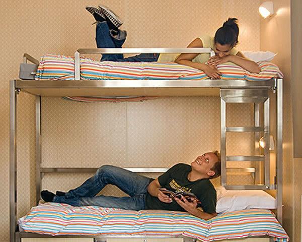 Klassenfahrt Stayokay Amsterdam Zeeburg- Zimmerbeispiel