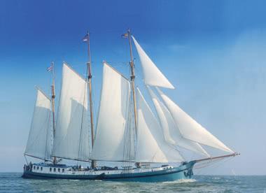 So könnte Ihr Segelschiff aussehen