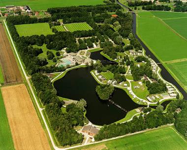 Studienfahrten Hunzepark- Luftbild