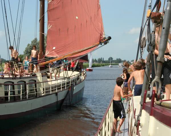 Klassenfahrt Westfriesland - Ihr segelschiff