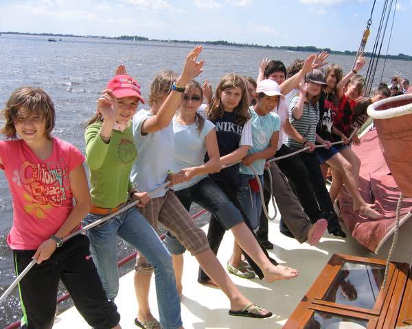 Ihre Klasse wird begeistert sein: Segelreise Westfriesland