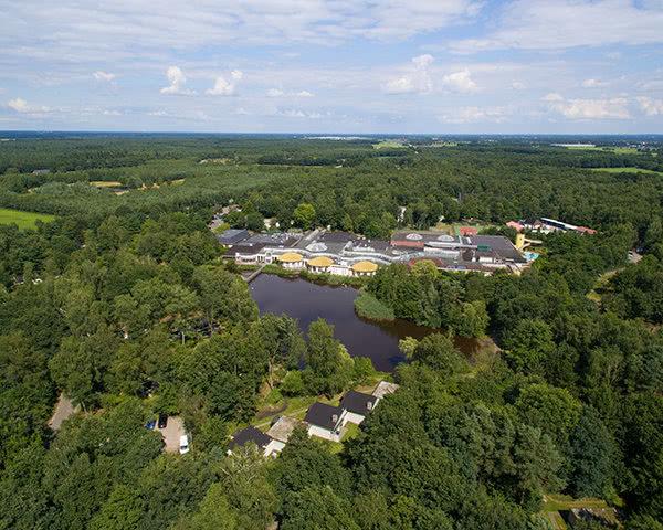 Kursfahrt Centerparcs Limburgse Peel- Luftbild