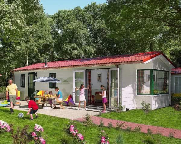Klassenreise Ferienpark Duinrell: Unterkunftsbeispiel