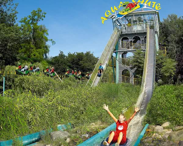 Studienfahrt Ferienpark Duinrell- Aqua Shute