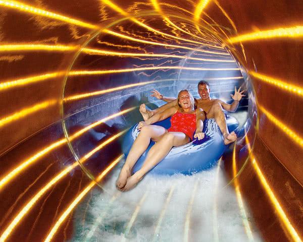 Kursreise Ferienpark Duinrell: Moonlight-Rutsche