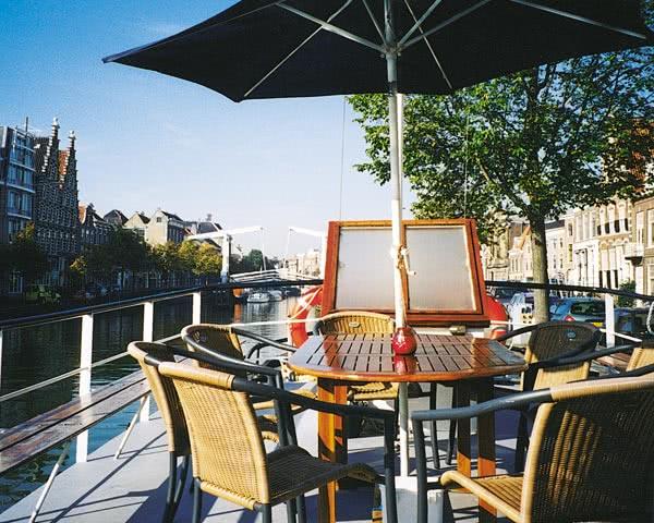 Abireisen Motorboot: Deck