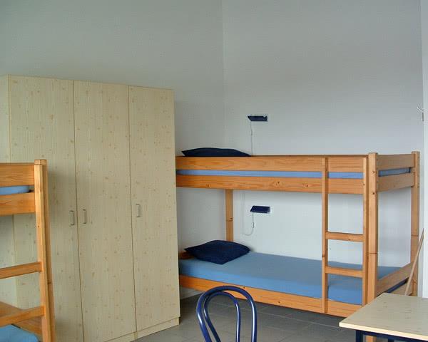 Klassenfahrten Gruppenhaus- Zimmerbeispiel
