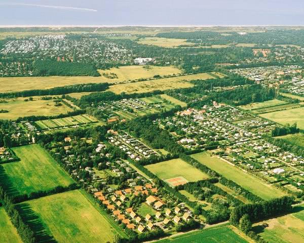 Schülerreise Kustpark Klein Poelland: Luftbild