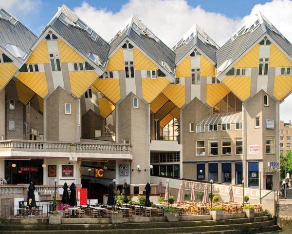 Klassenfahrt Stayokay Rotterdam- Außenansicht