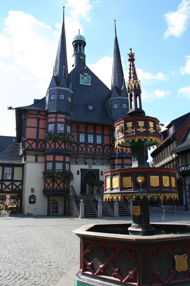 Rathaus in Wernigerode - © Wernigerode Tourismus GmbH