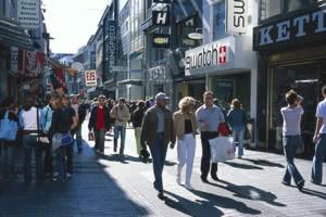 Viele Einkaufsmöglichkeiten in der Domstadt